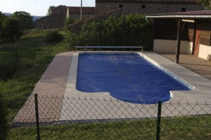 The pool at La Verrerie - self catering holidays in The Auvergne